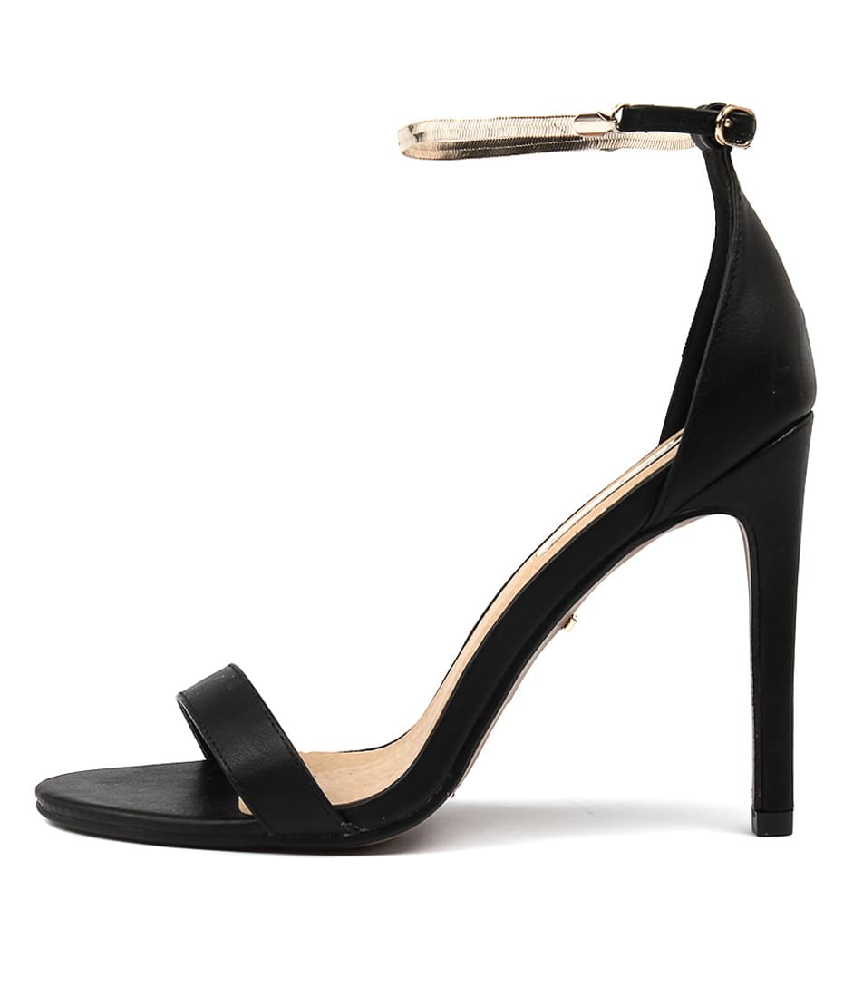 Billini Hampton Black Dress Heeled Sandals