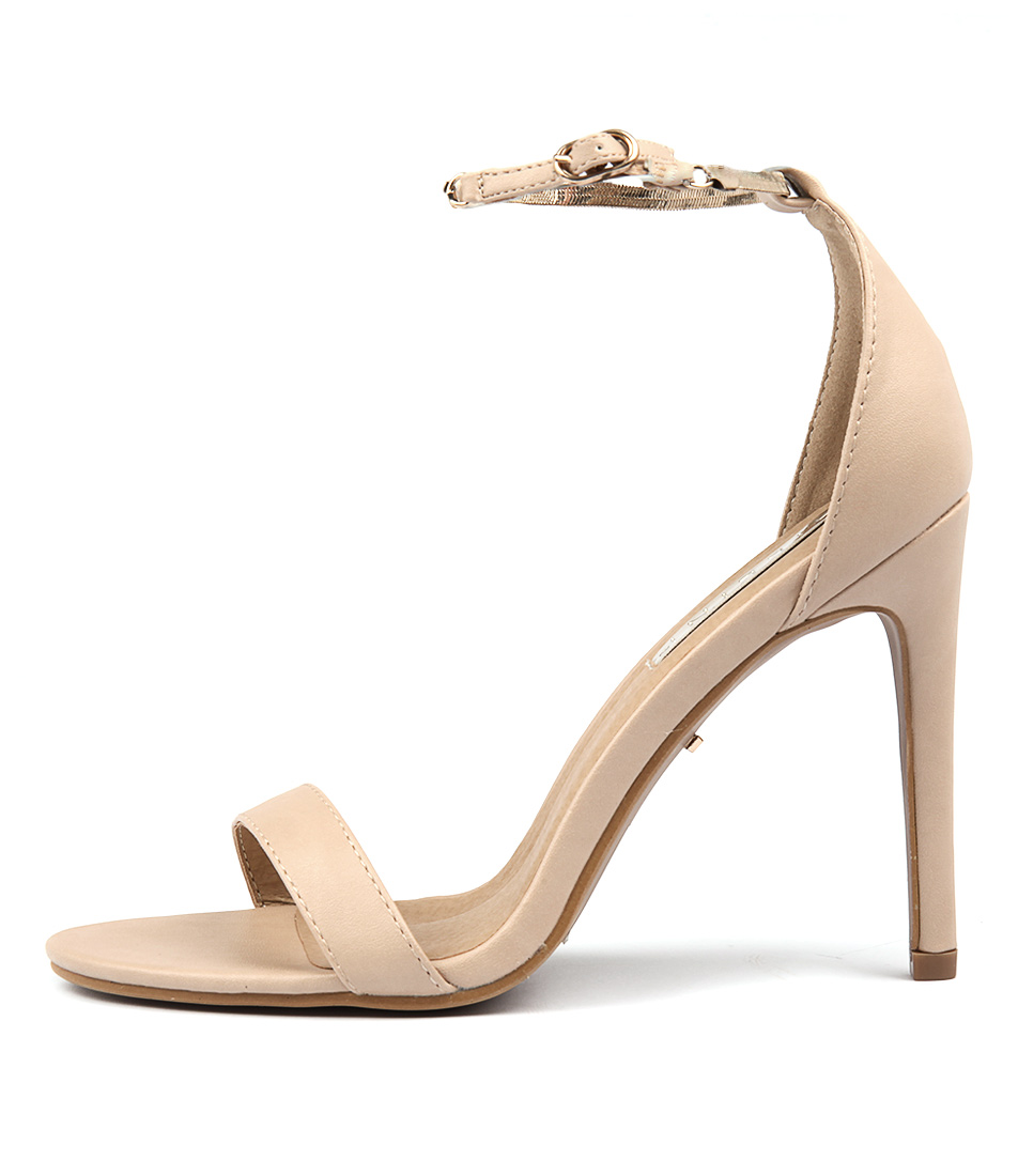 Billini Hampton Nude Dress Heeled Sandals