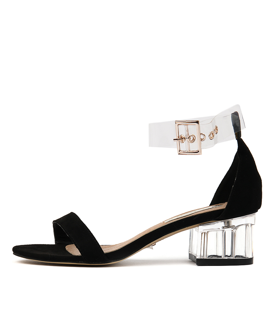 Billini Narina Bi Black Casual Heeled Sandals