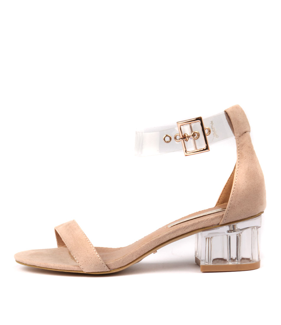 Billini Narina Bi Blush Casual Heeled Sandals