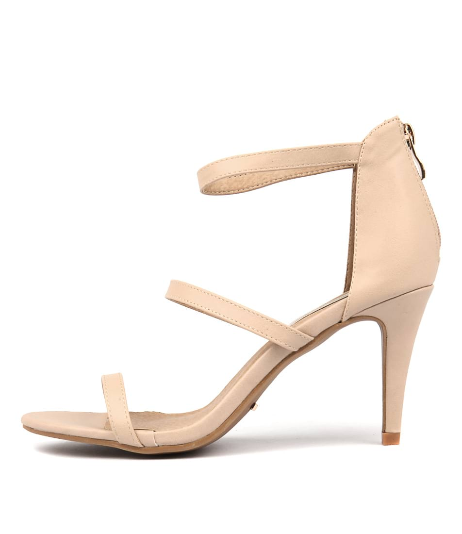 Billini Cerise Nude Heeled Sandals