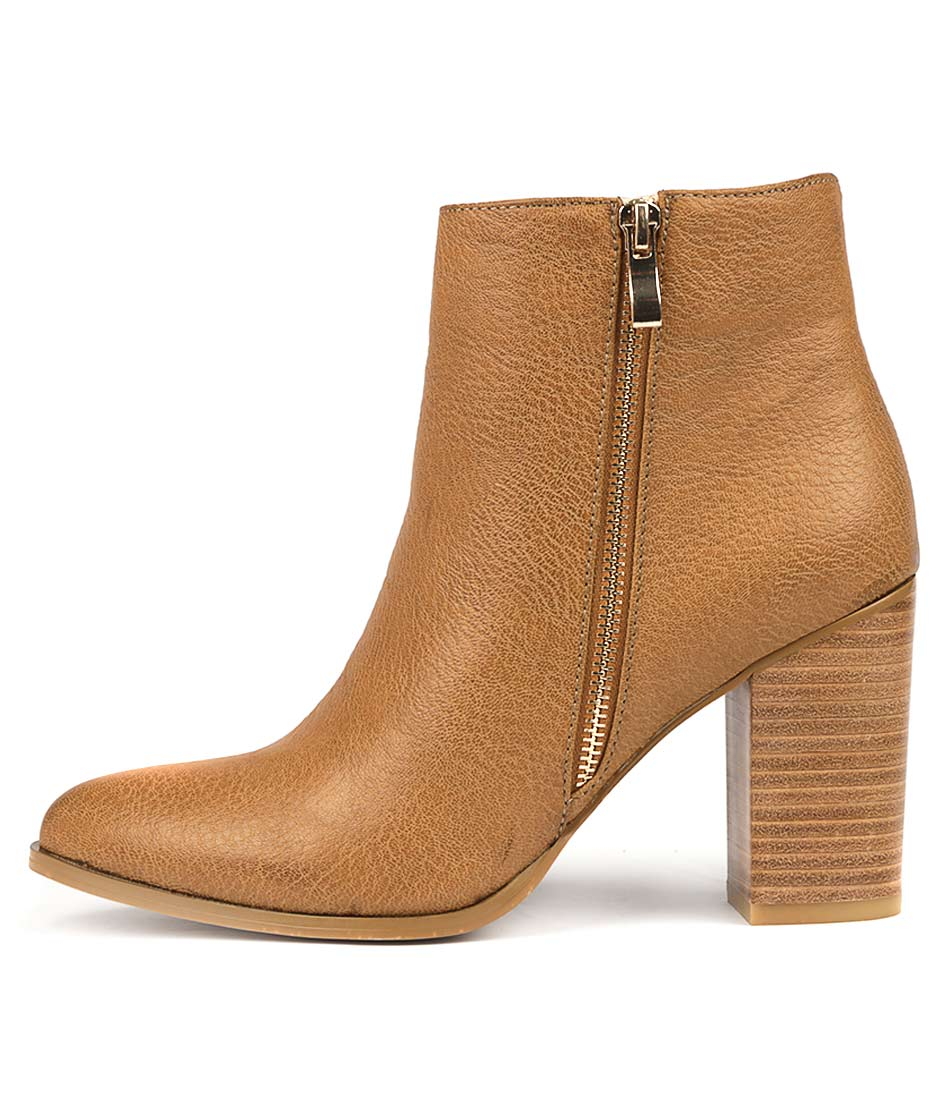 Photo of Billini Charli Tan Ankle Boots womens shoes