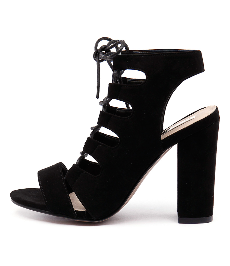 Billini Prince Black Heeled Sandals