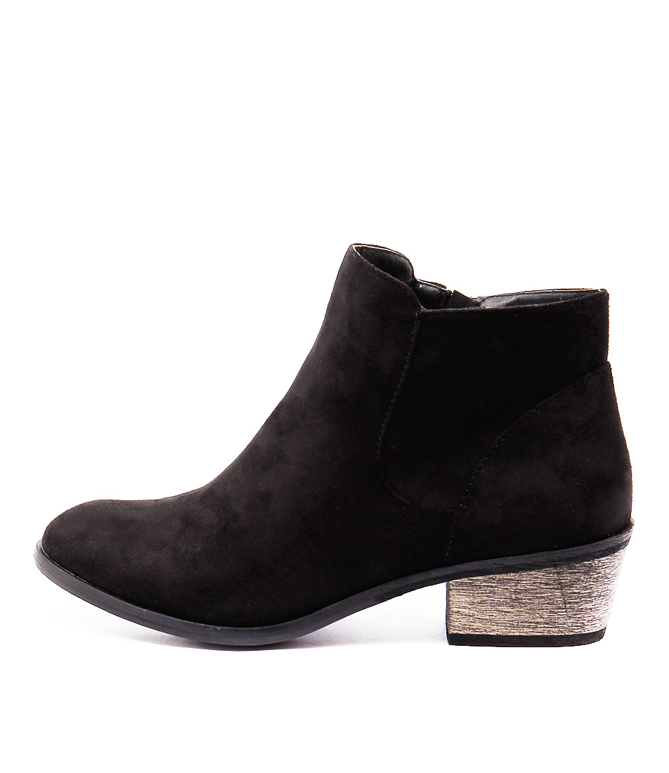 Billini Haven Black Ankle Boots
