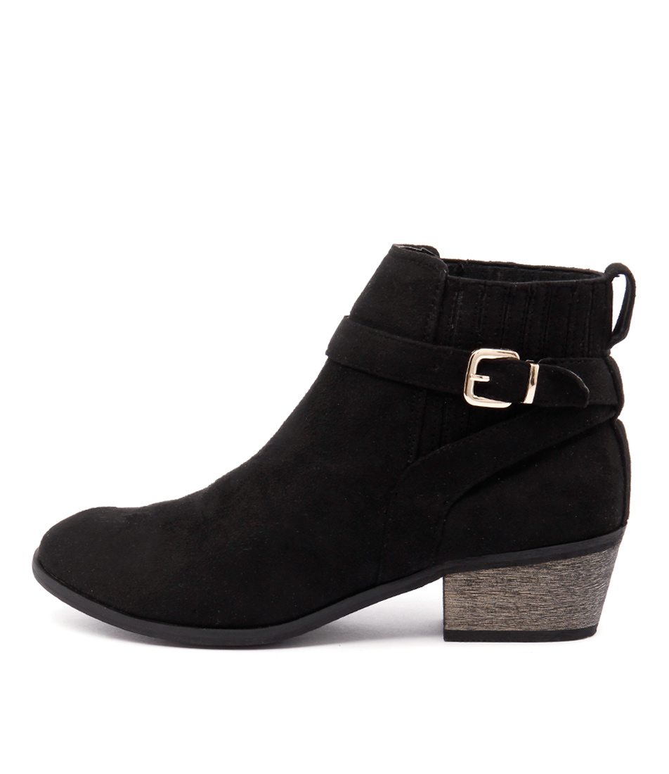 Billini Hesta Black Ankle Boots