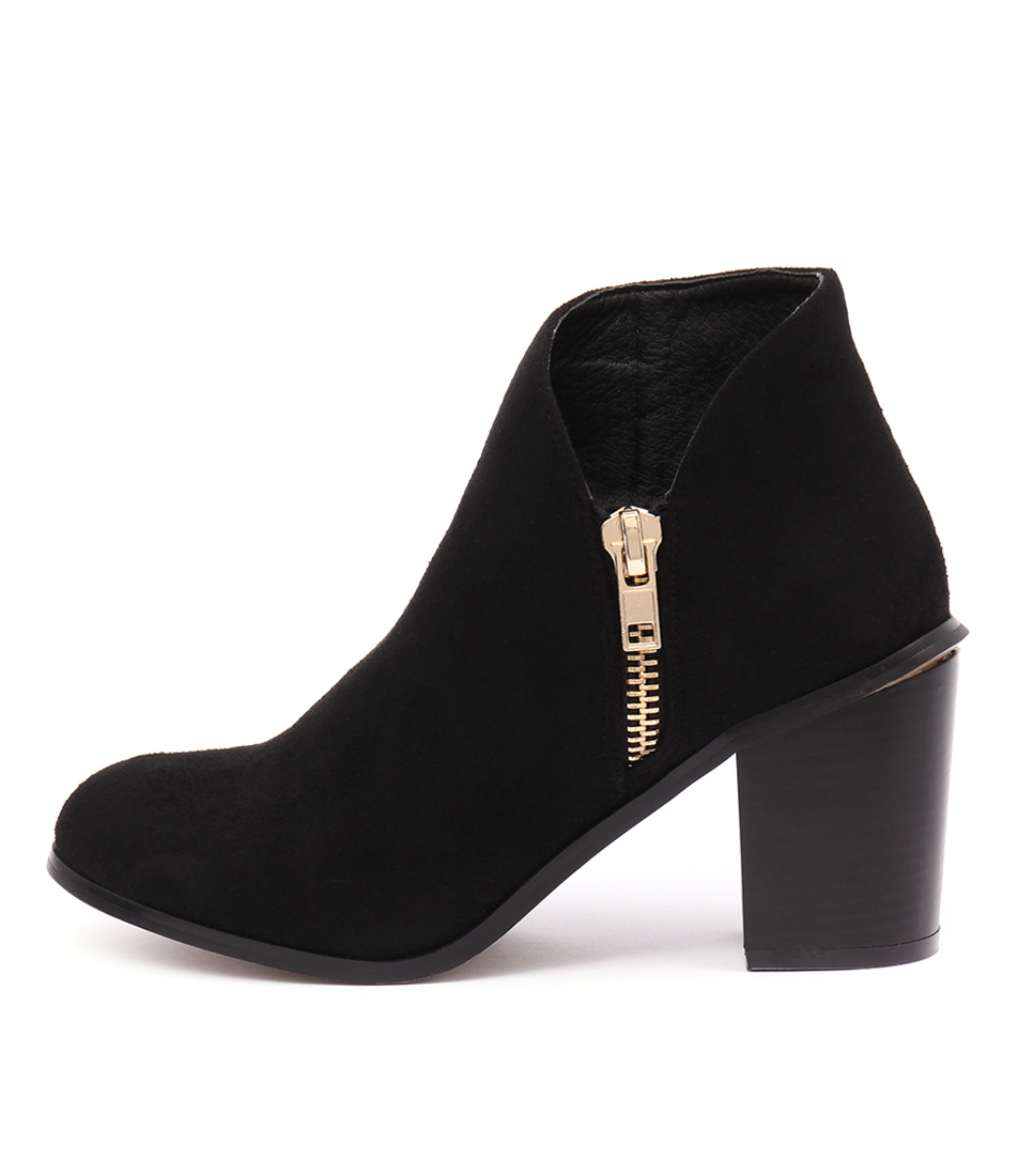 Billini Deana Black Casual Ankle Boots