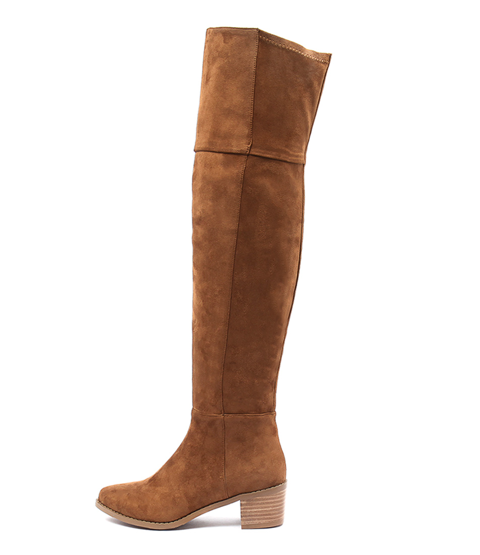 Billini Diaz Tan Casual Long Boots