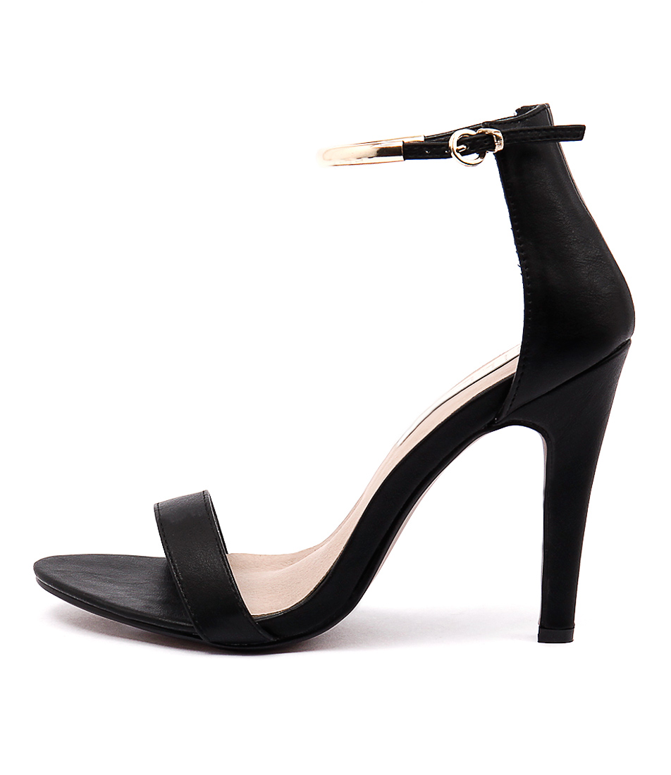 Billini Oriana Black Casual Heeled Sandals
