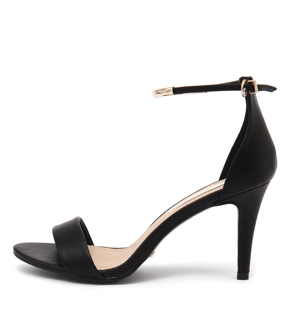 Billini Carolina Black Heeled Sandals
