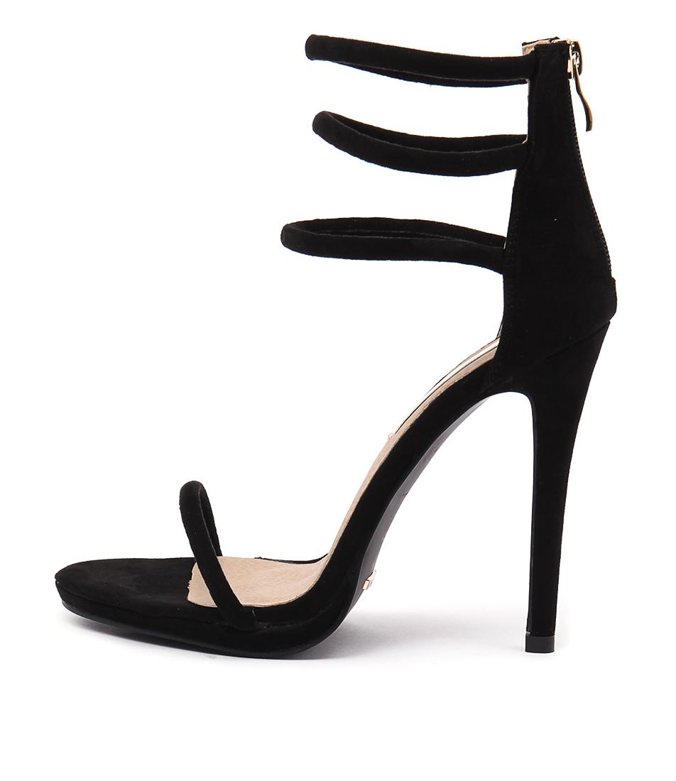 Billini Dephi Black Dress Heeled Sandals