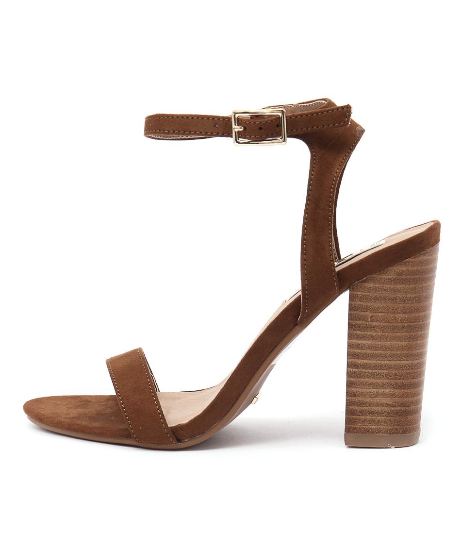 Billini Paris Dark Tan Heeled Sandals