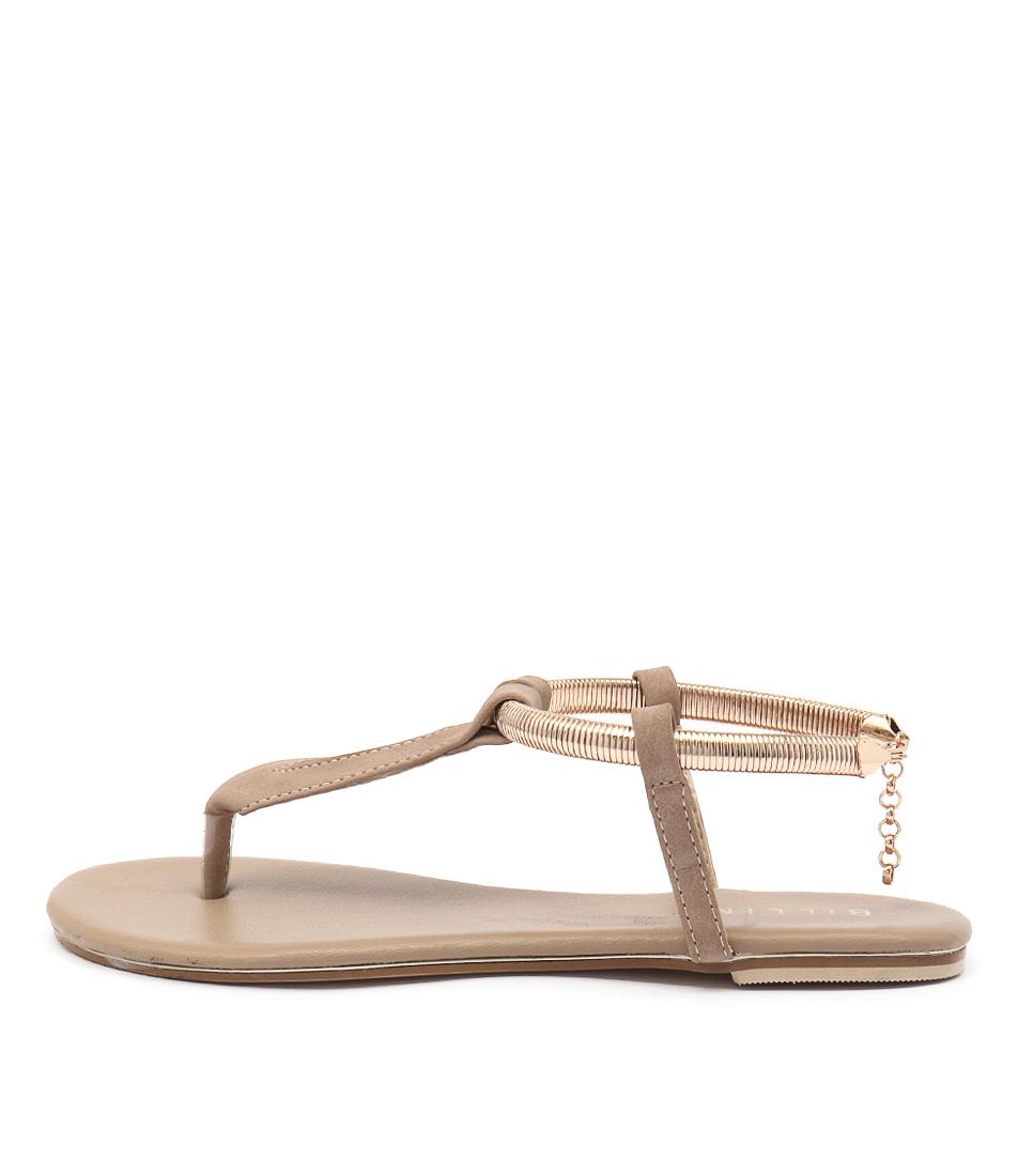 Billini Clarity Tan Casual Flat Sandals