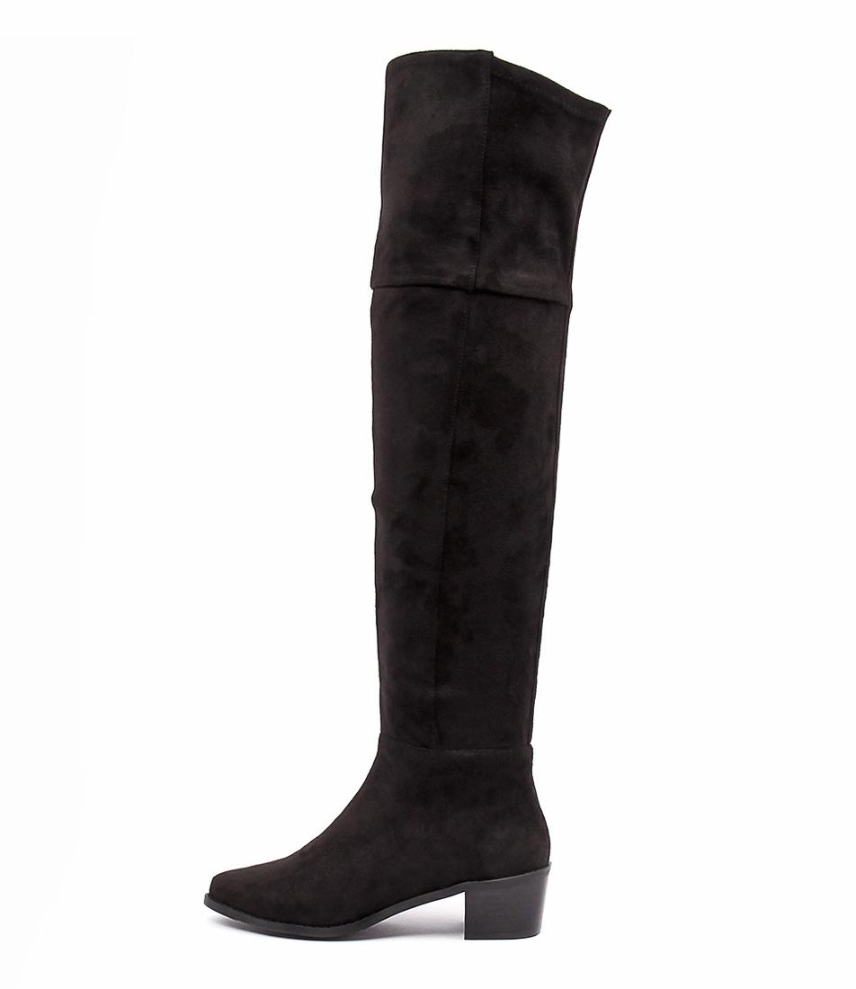 Billini Diaz Black Boots  Long Boots