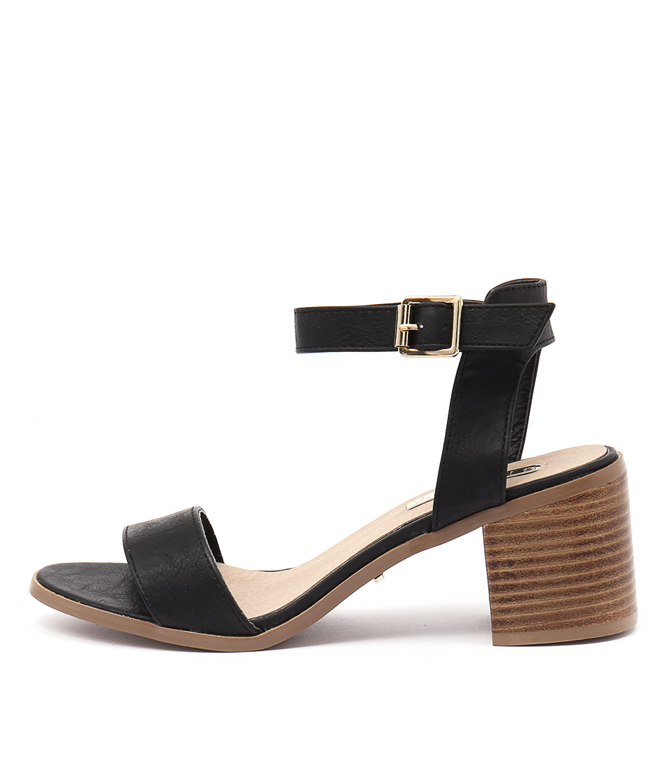 Billini Watson Black Sandals