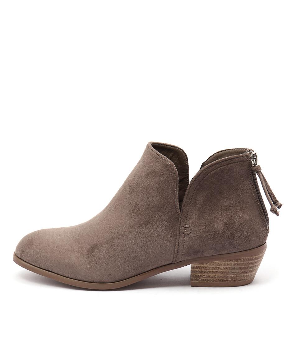 Billini Atlanta Taupe Casual Ankle Boots
