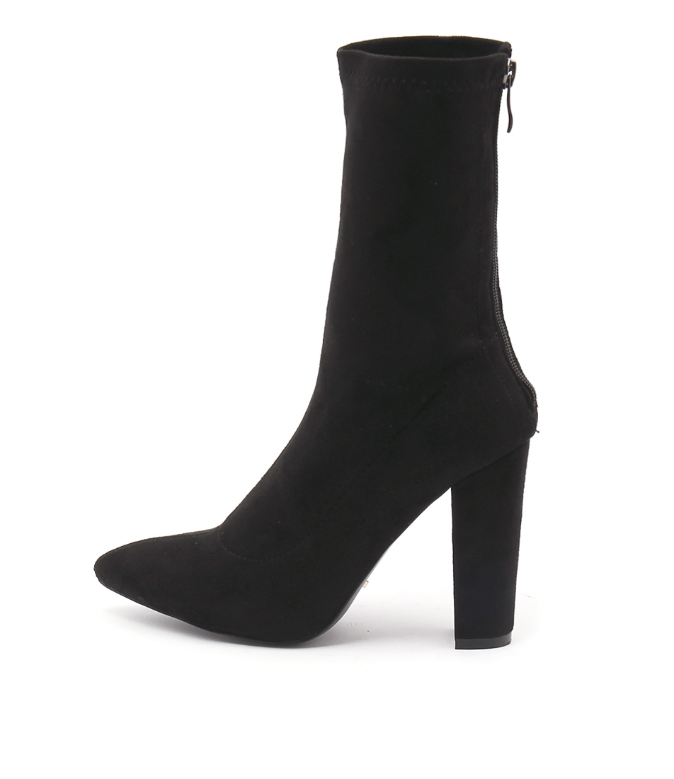 Billini Octavia Black Ankle Boots