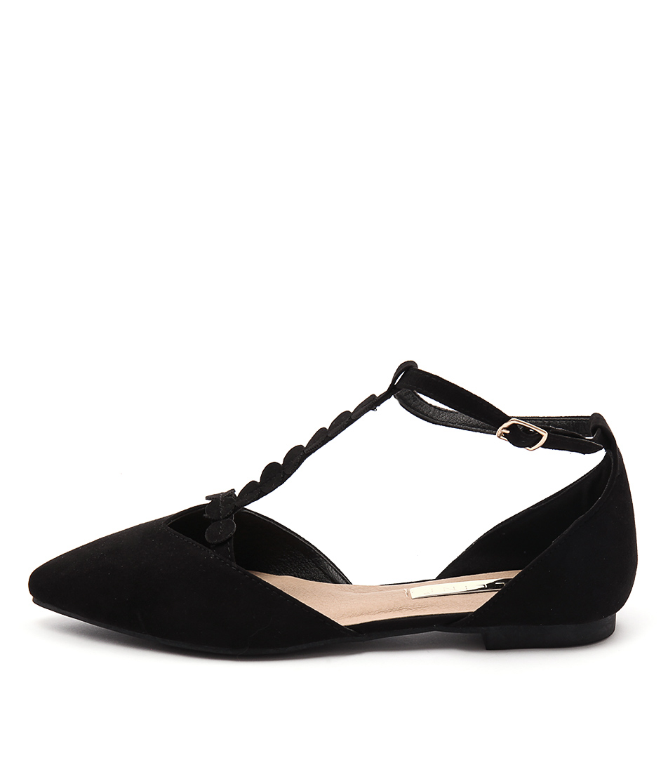 Billini Shilo Black Casual Flat Shoes