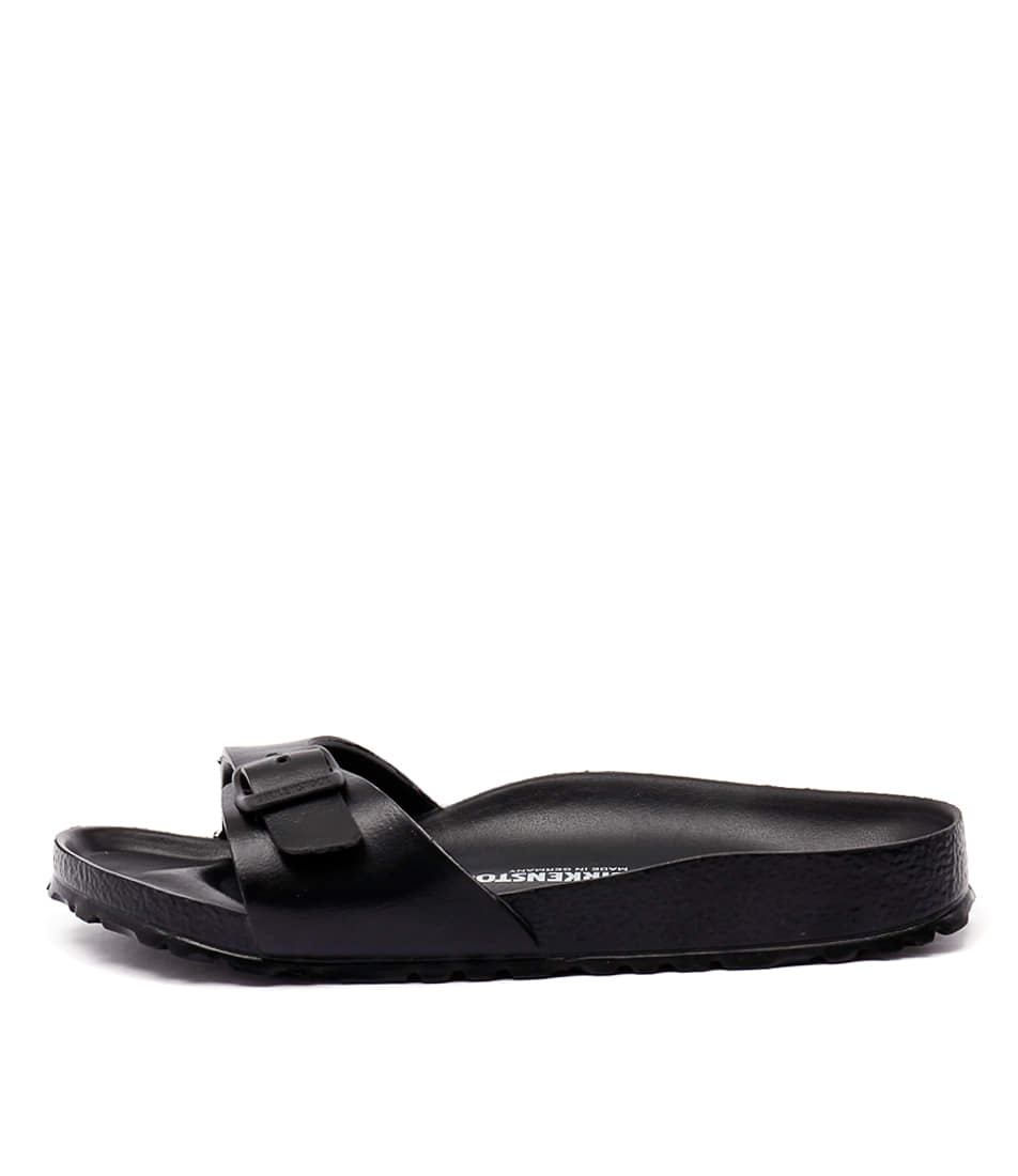 Buy Birkenstock Madrid Eva Black Sandals online with free shipping