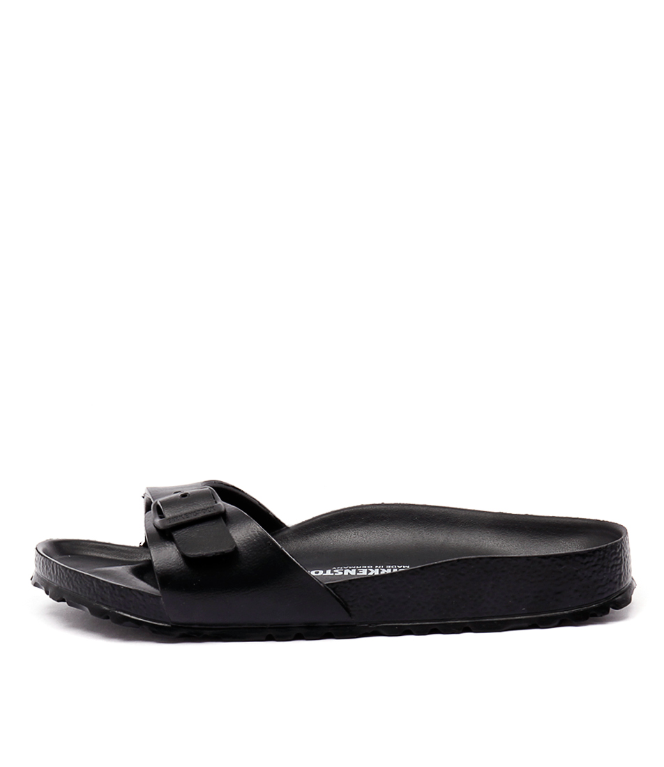 Birkenstock Madrid Eva Black Resort Flat Sandals