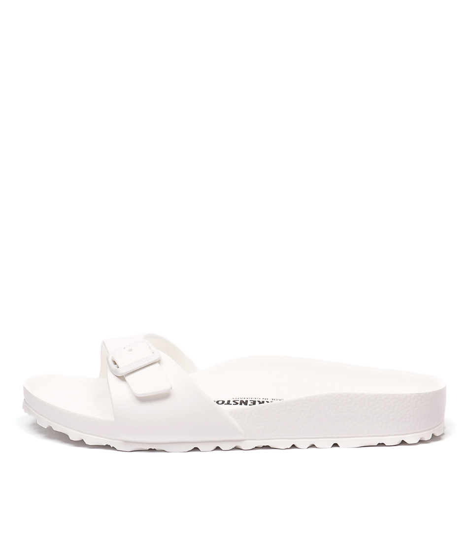 Buy Birkenstock Madrid Eva White Flat Sandals online with free shipping
