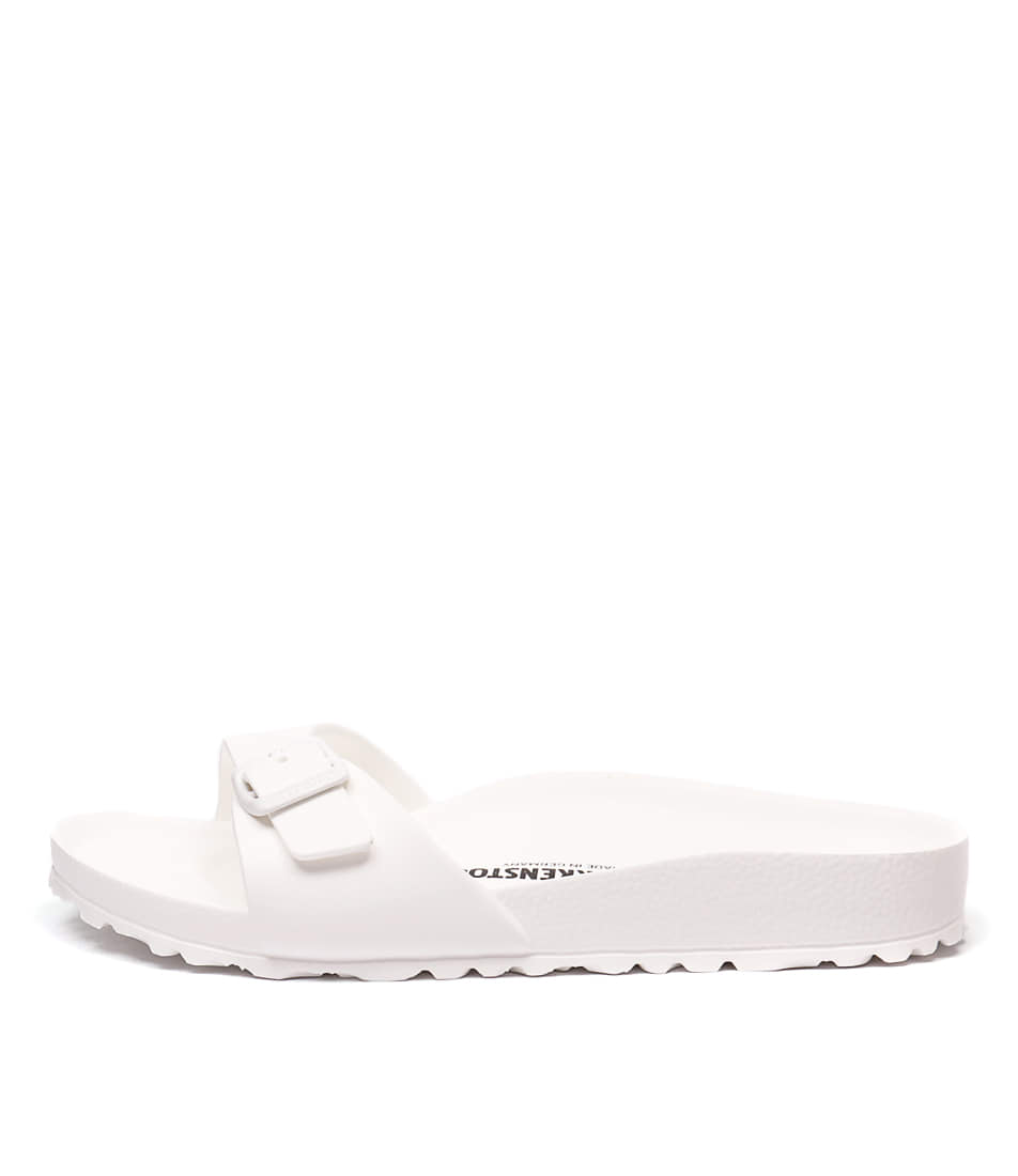 Birkenstock Madrid Eva White Resort Flat Sandals