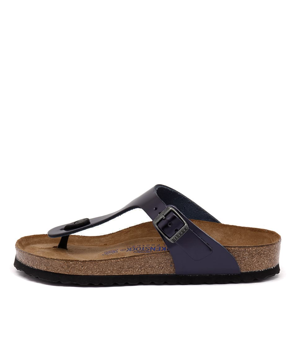 Birkenstock Gizeh Metallic Dark S Sandals
