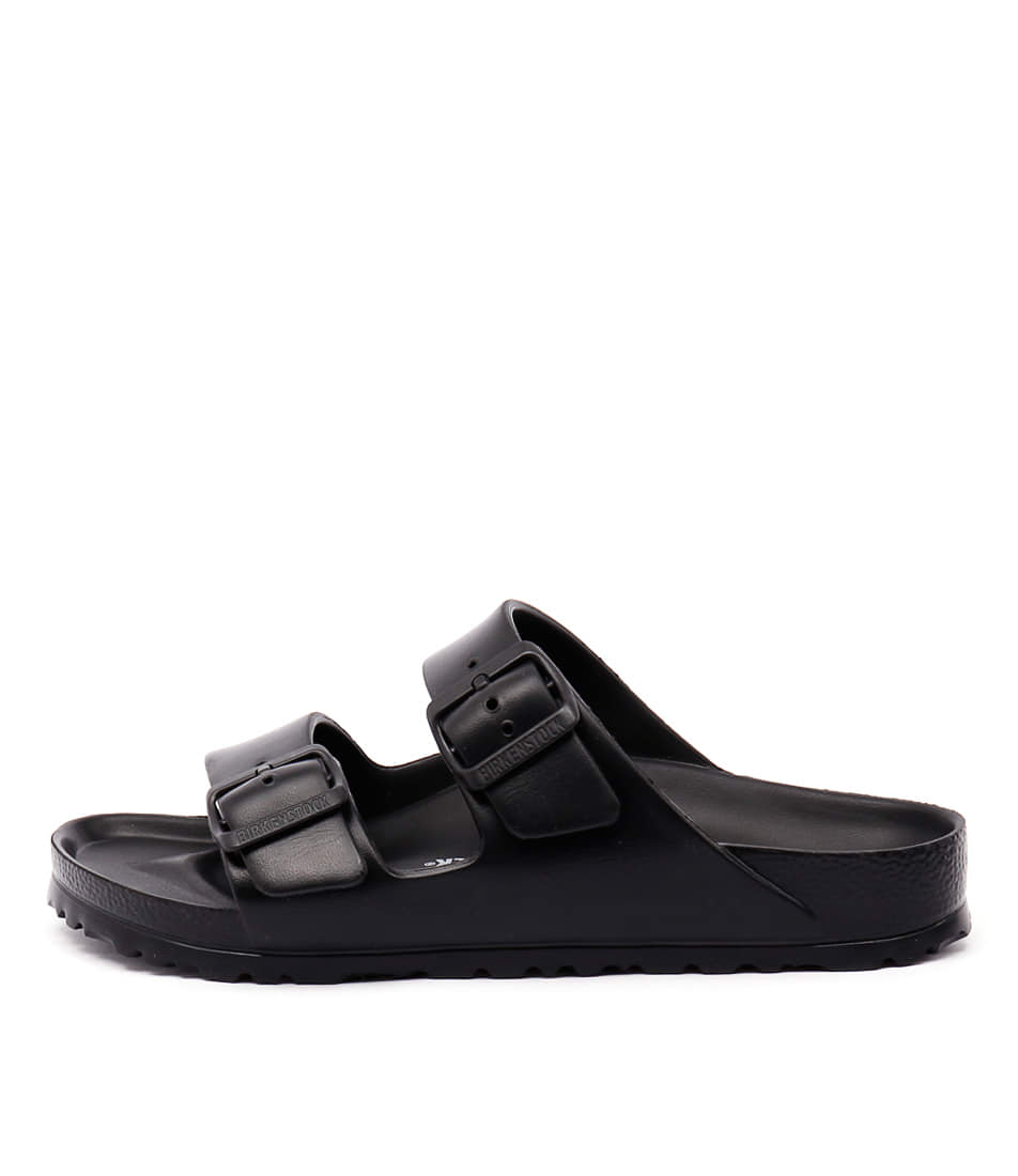 Buy Birkenstock Arizona Eva Black Flat Sandals online with free shipping