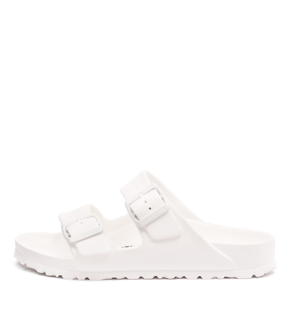 Buy Birkenstock Arizona Eva White Flat Sandals online with free shipping