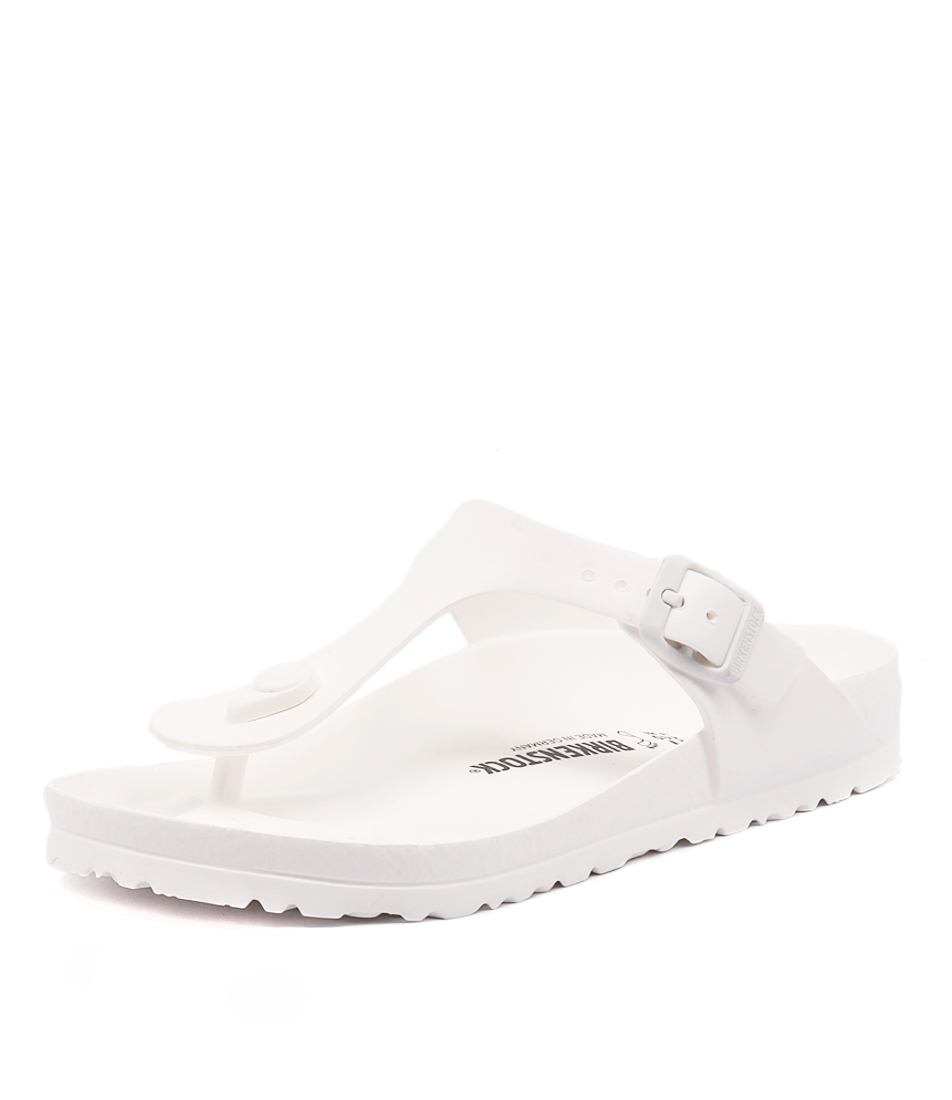 New Birkenstock Gizeh Eva White Womens Shoes Casual Sandals Sandals Flat