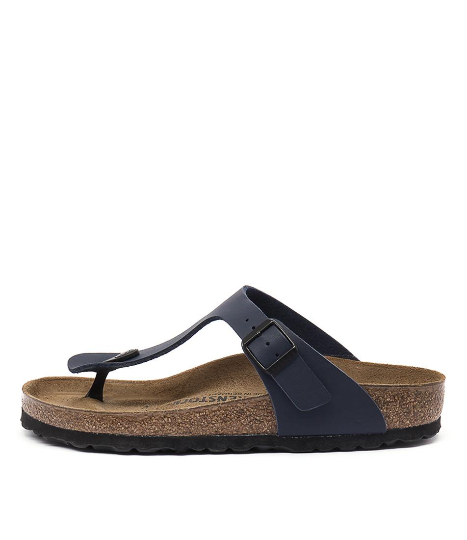 Birkenstock Gizeh Blue Sandals