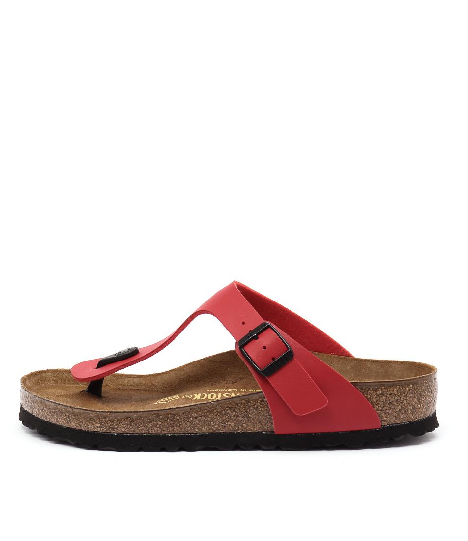 Birkenstock Gizeh Cherry Casual Flat Sandals