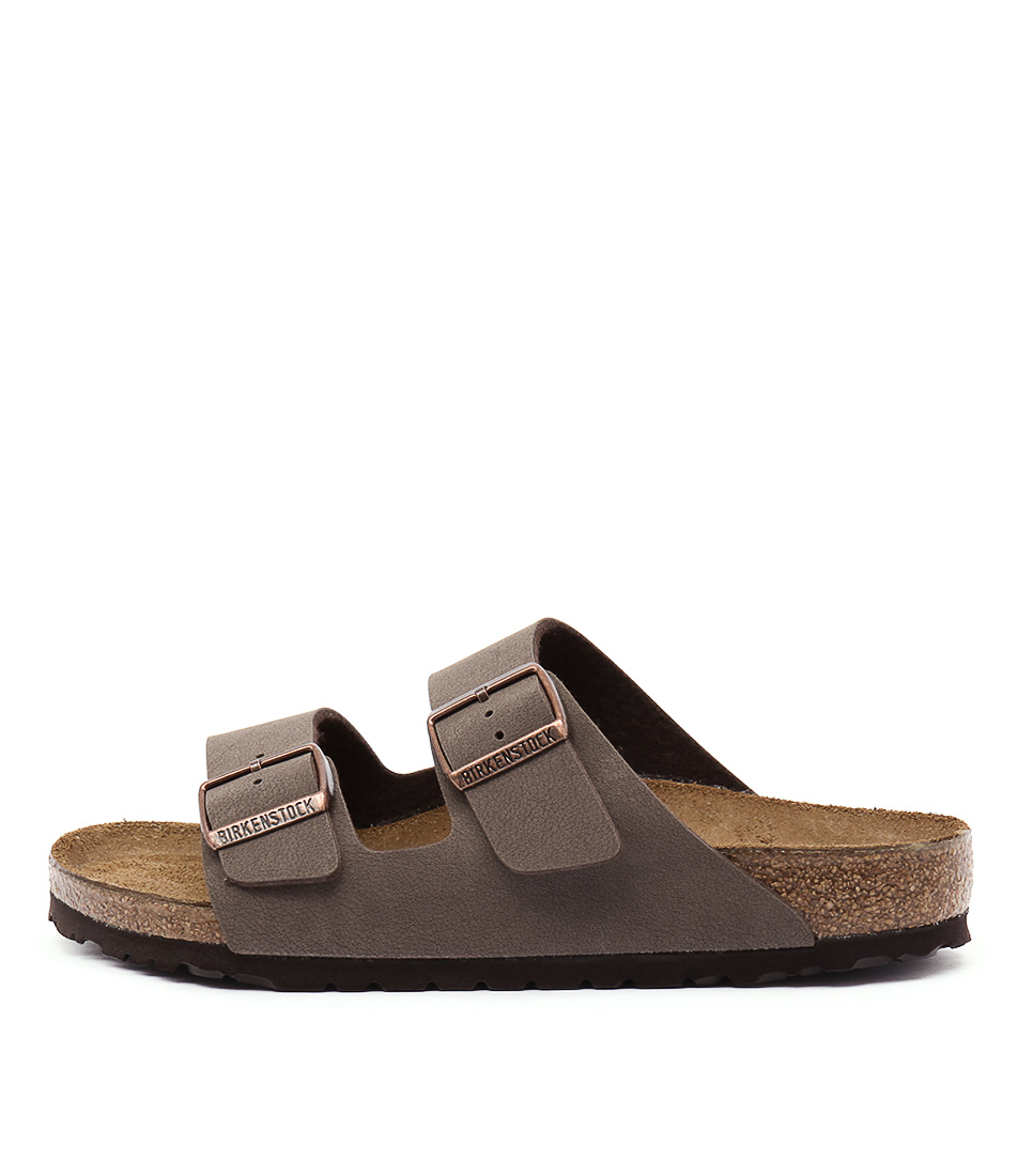 Buy Birkenstock Arizona Mocca Flat Sandals online with free shipping