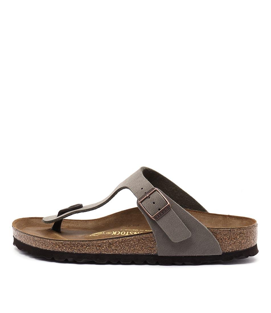 buy Birkenstock Gizeh Stone Sandals shop Birkenstock Sandals online
