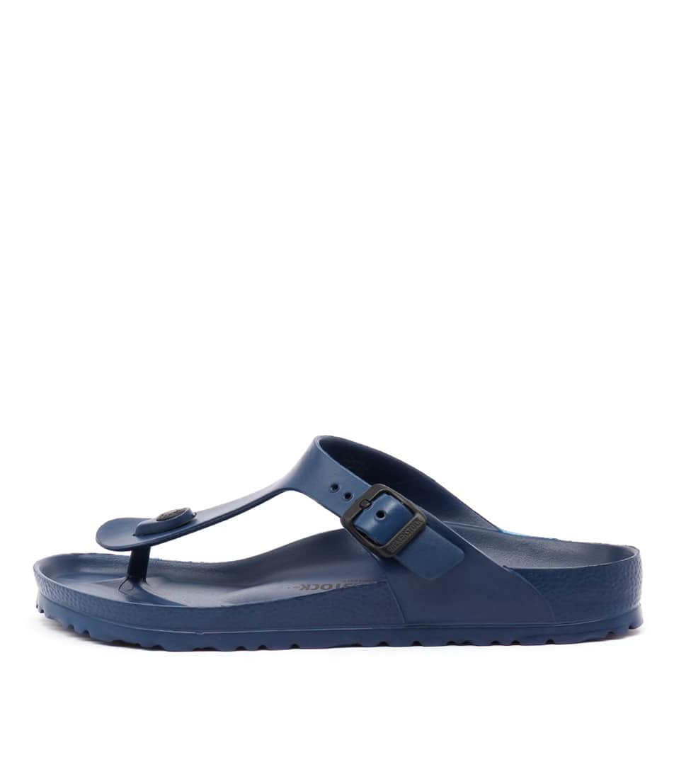 Buy Birkenstock Gizeh Eva Navy Flat Sandals online with free shipping