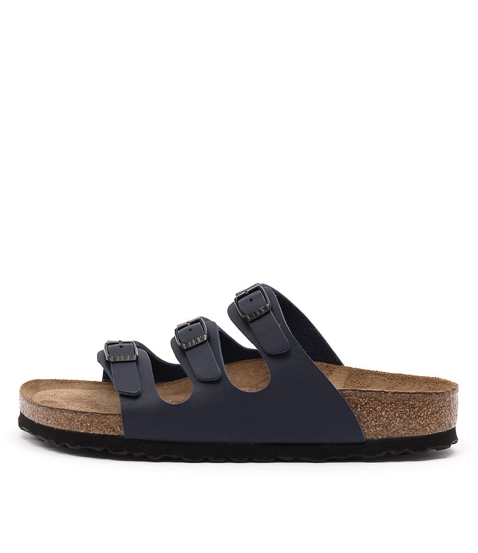 Birkenstock Florida Sfb Blue Sandals