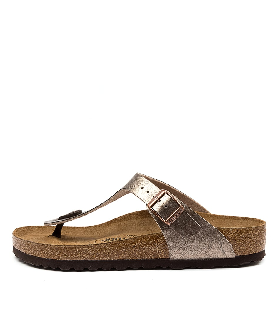 Buy Birkenstock Gizeh Graceful Taupe Flat Sandals online with free shipping