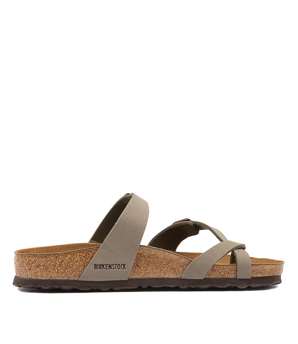 3eccad905d16 Details about New Birkenstock Mayari Stone Womens Shoes Casual Sandals  Sandals Flat