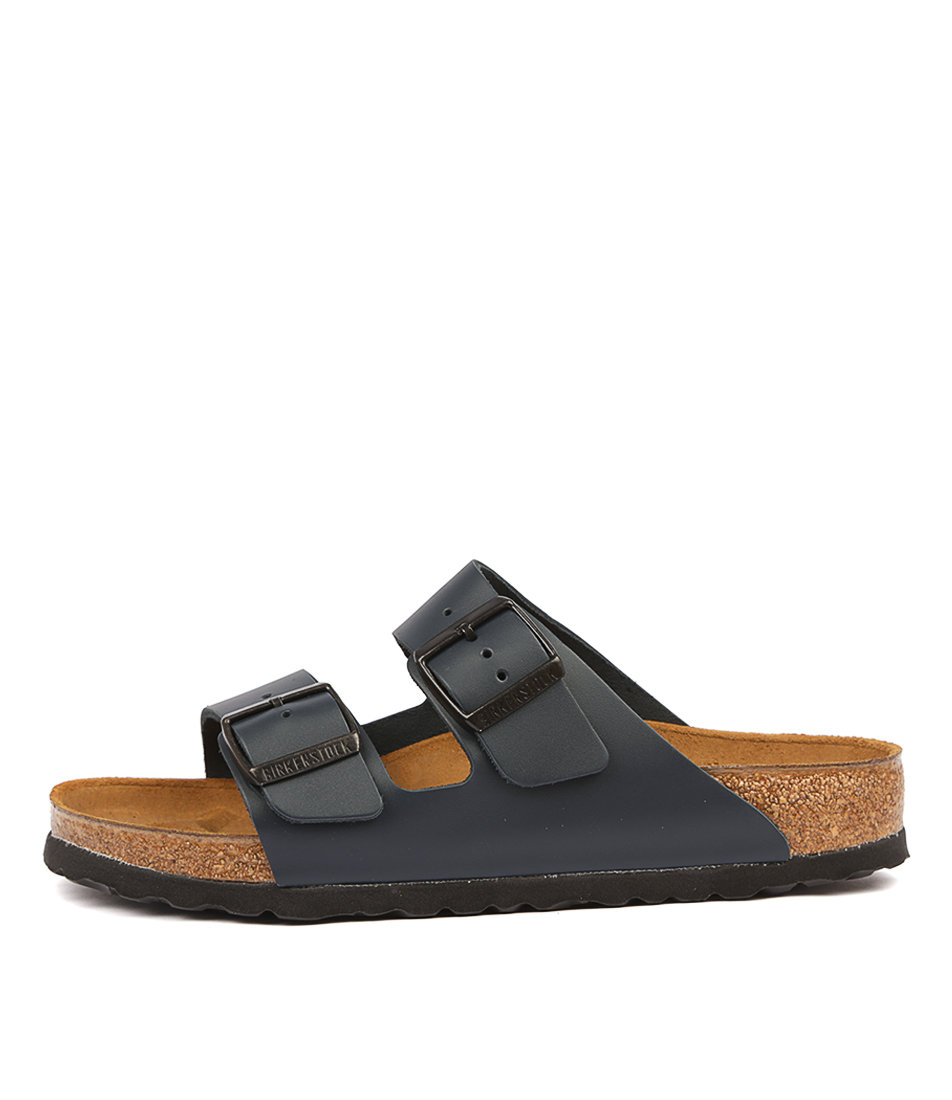 Buy Birkenstock Arizona Blue Flat Sandals online with free shipping