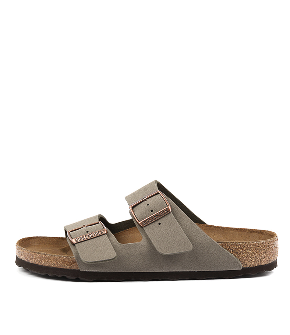 Buy Birkenstock Arizona Stone Flat Sandals online with free shipping