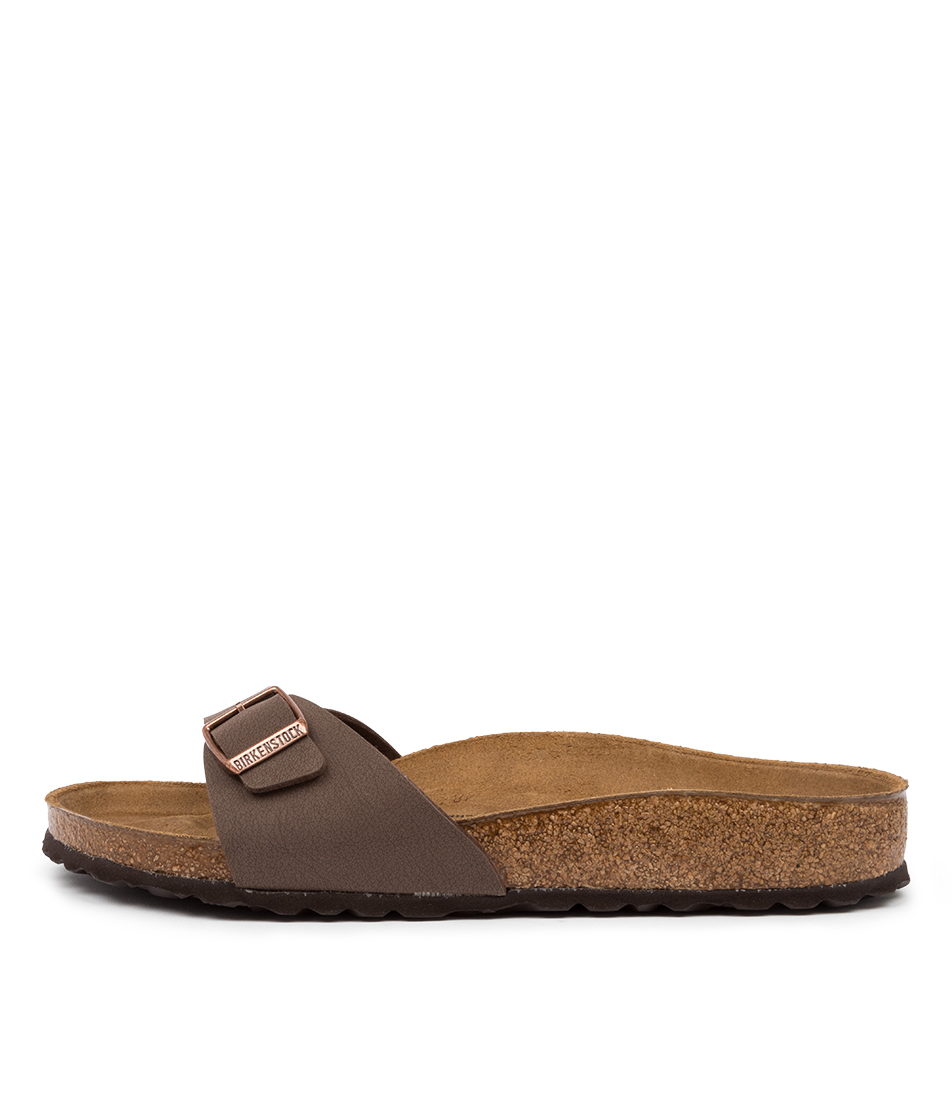Buy Birkenstock Madrid Bk Mocca Flat Sandals online with free shipping