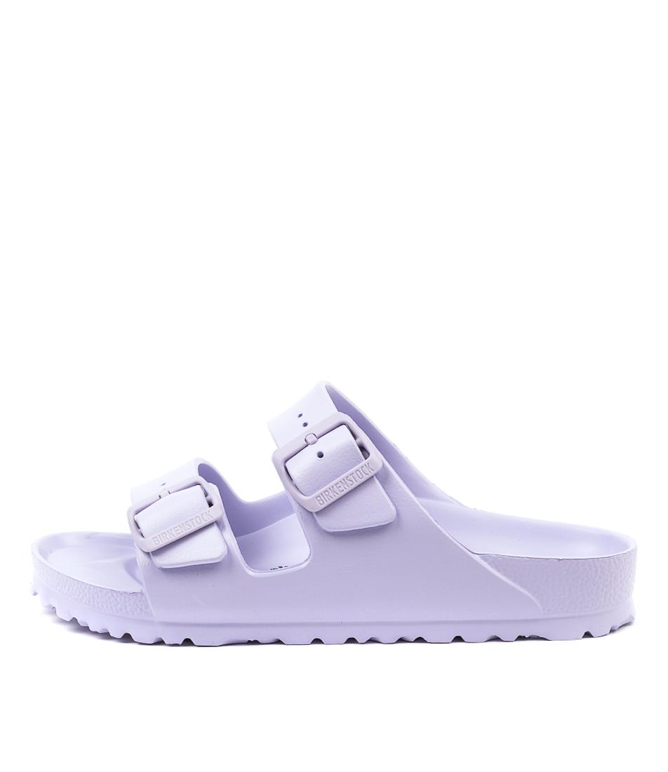 Buy Birkenstock Arizona Eva Purple Fog Flat Sandals online with free shipping