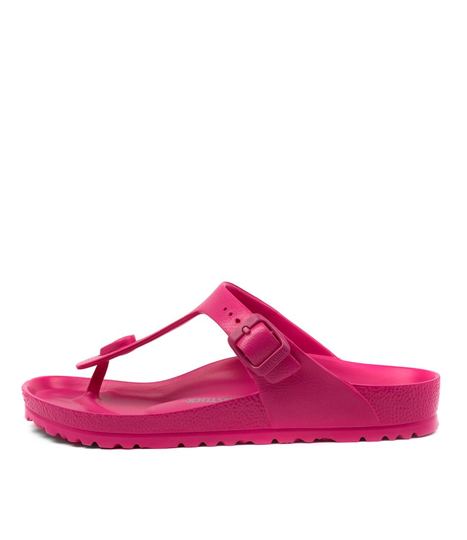 Buy Birkenstock Gizeh Eva Beetroot Purple Flat Sandals online with free shipping