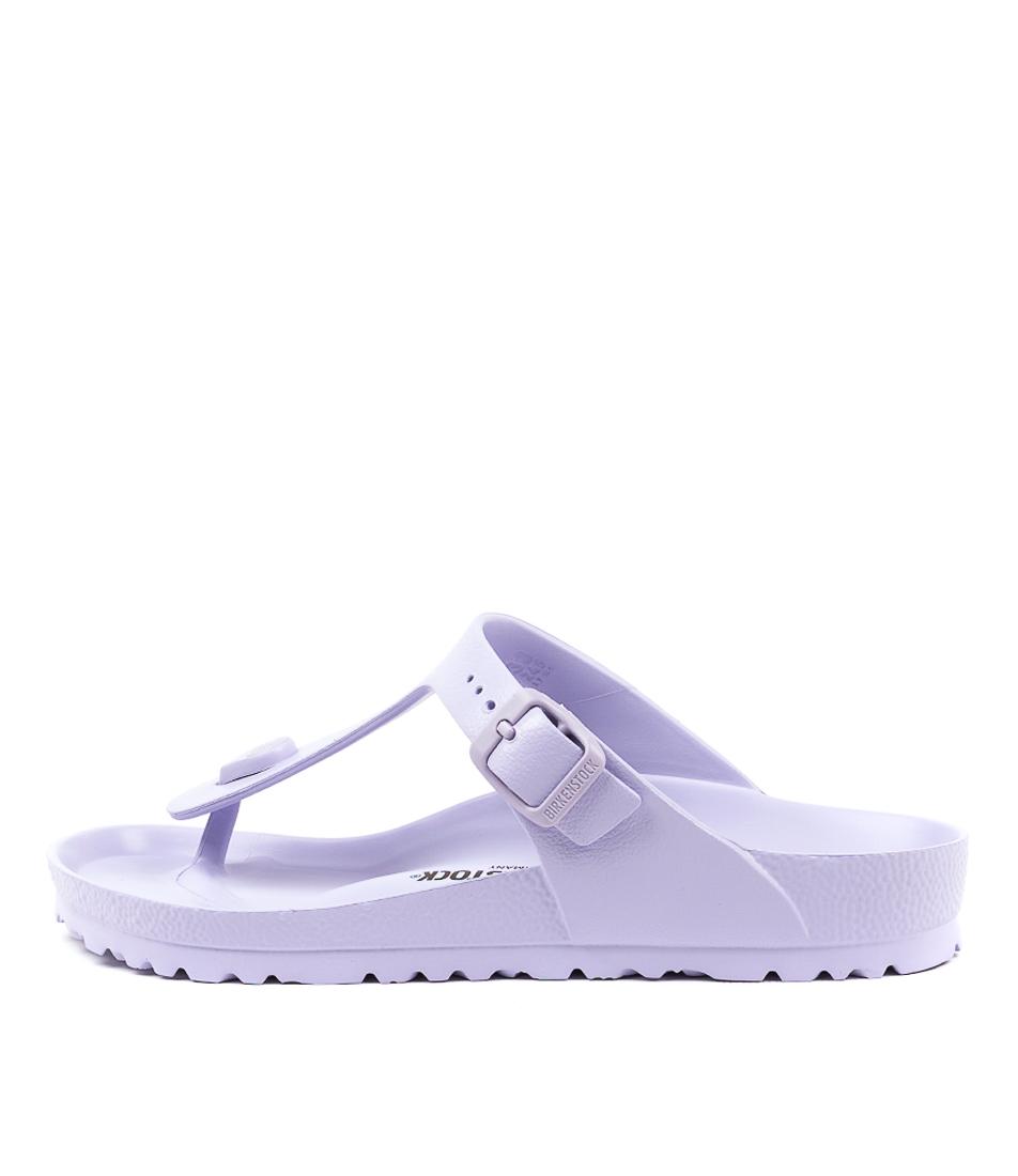 Buy Birkenstock Gizeh Eva Purple Fog Flat Sandals online with free shipping