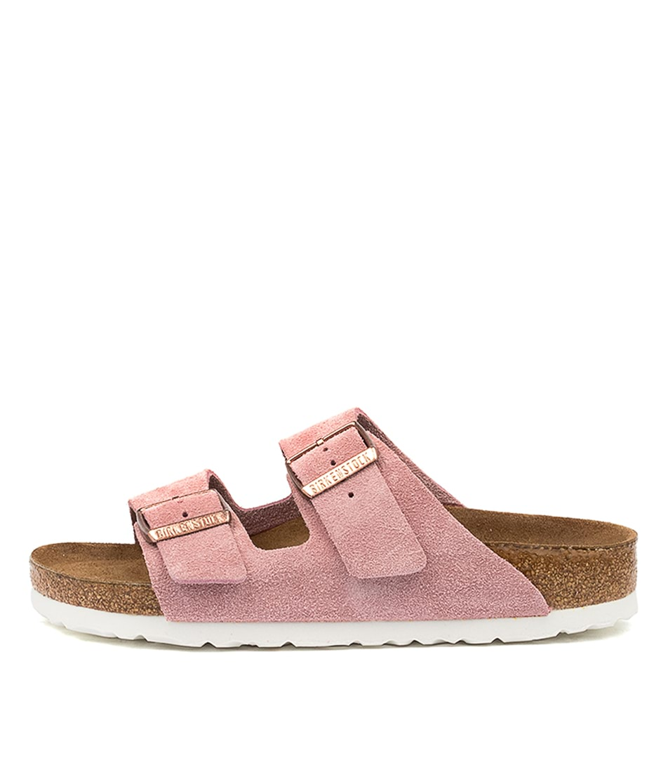 Buy Birkenstock Arizona Sfb Rose Flat Sandals online with free shipping