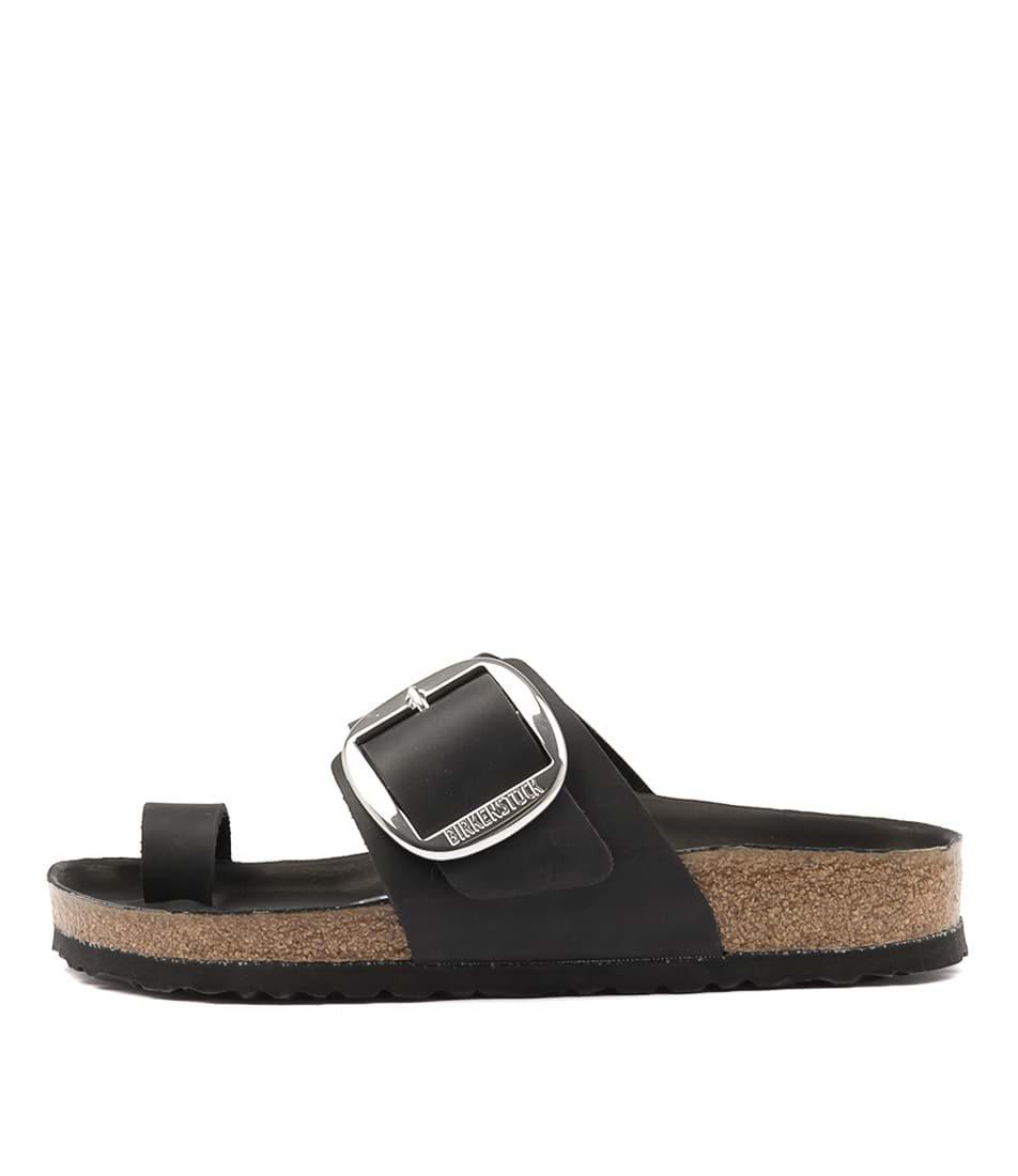 Birkenstock Miramar Big Buckle Narrow Black Sandals
