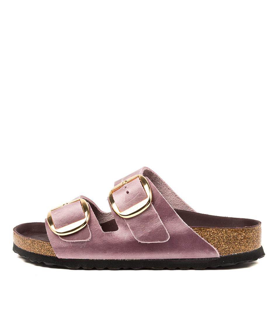 Buy Birkenstock Arizona Big Buckle Lavender Blush Flat Sandals online with free shipping