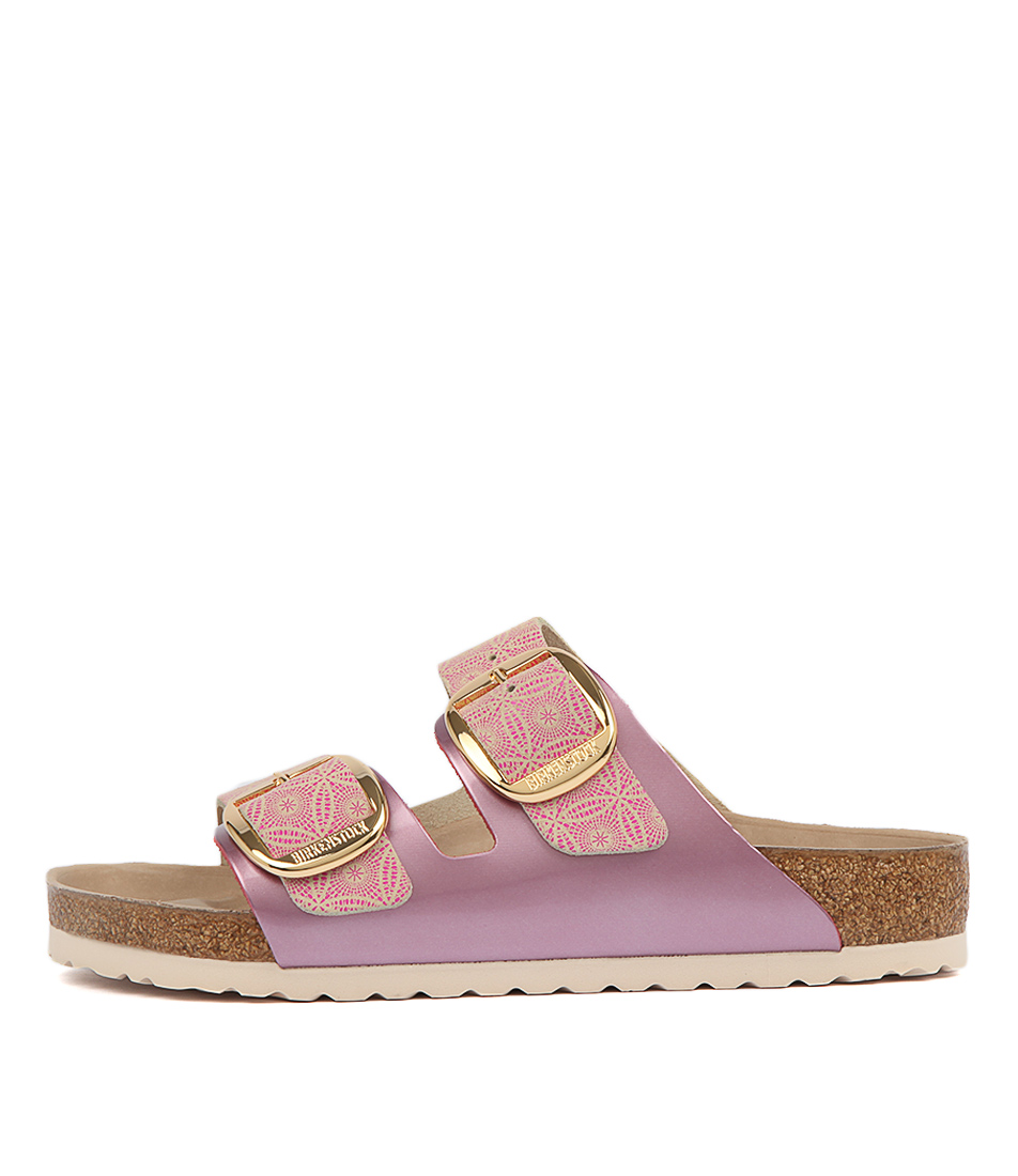 Buy Birkenstock Arizona Big Buckle Ceramic Rose Pa Flat Sandals online with free shipping
