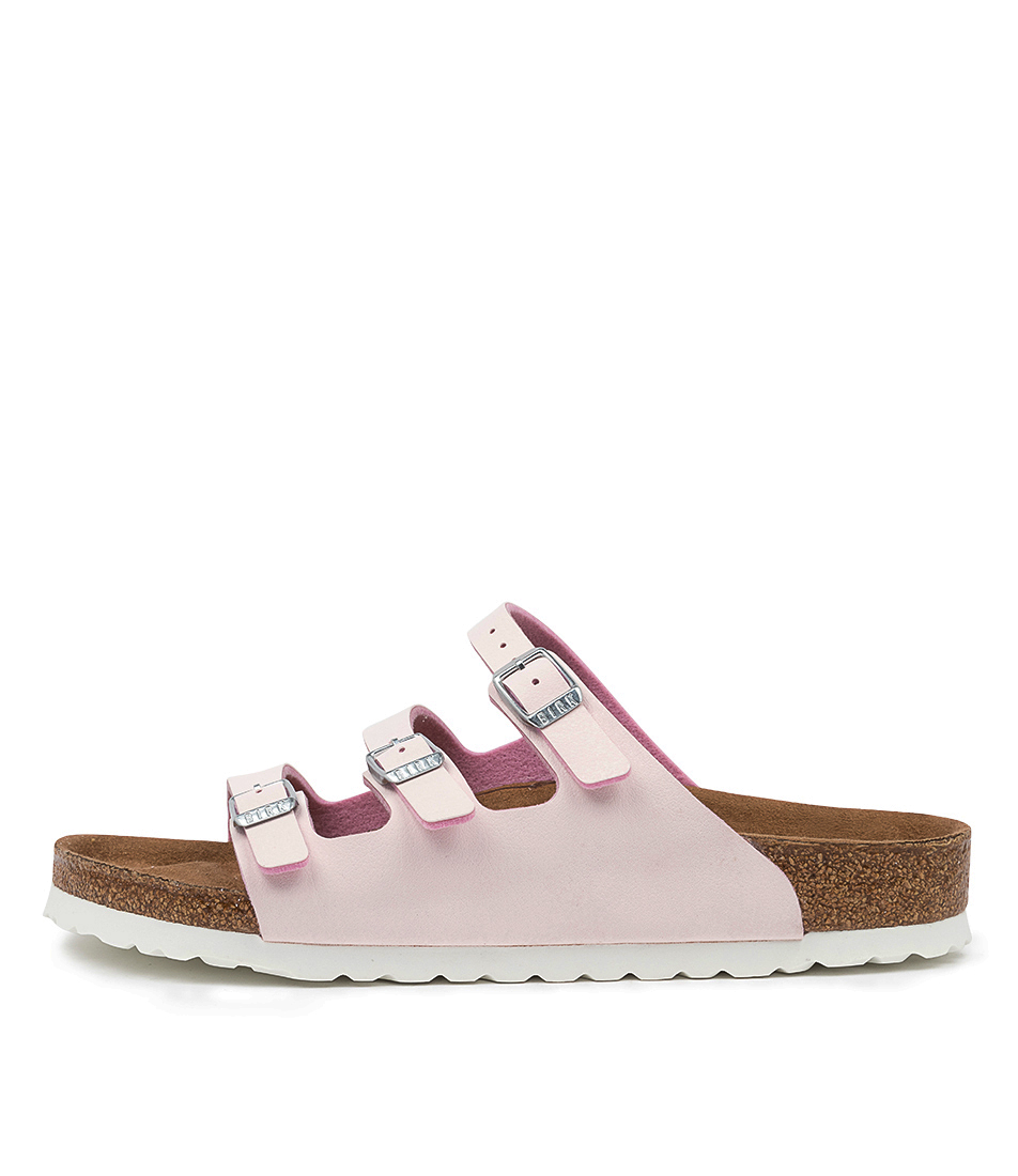 Buy Birkenstock Florida Fresh Rose Flat Sandals online with free shipping