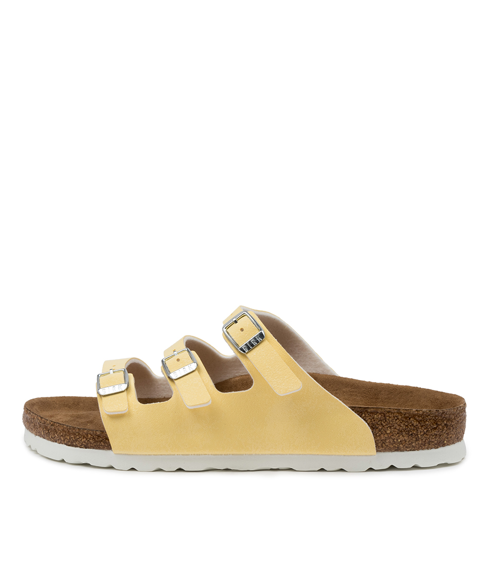 Buy Birkenstock Florida Fresh Vanilla Flat Sandals online with free shipping