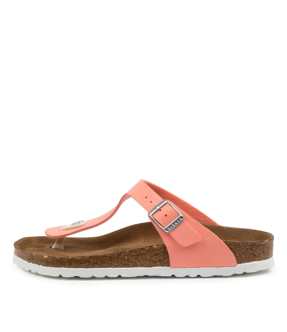 Buy Birkenstock Gizeh Vegan Bk Brushed Flaming Flat Sandals online with free shipping